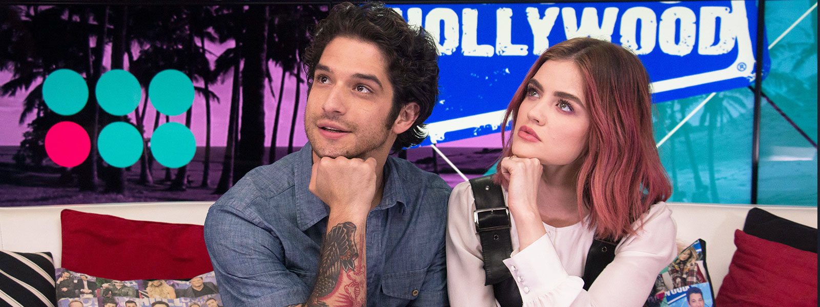 Tyler Posey & Lucy Hale